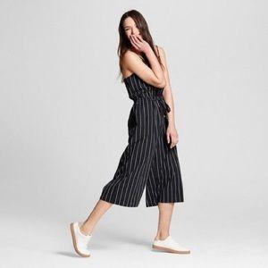 Universal Threads Striped Wide-Leg Jumpsuit